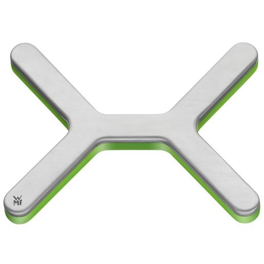 S/Steel Trivet with Green Base