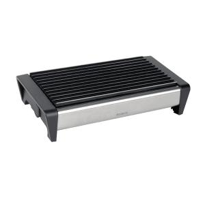 Food Warmer 2 Burner Matt Steel with Black