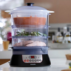 Food Steamer & Deep Fryer