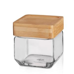 Square Jar 750ml Glass