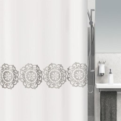 Medallion Shower Curtain, Size: 180x200cm