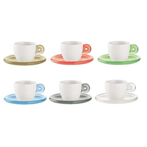 Gocce Espresso Cups With Saucer
