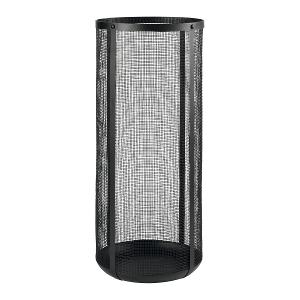 Umbrella Stand in Painted Metal Net Black