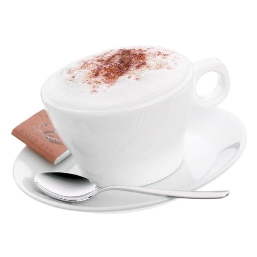 Barista Cappuccino Cup & Saucer with Spoon
