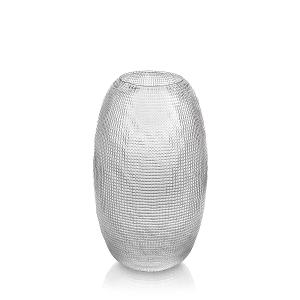 Diamante Vase H 29cm Transparent