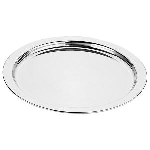 Round Tray Dia 46cm. Stainless Steel