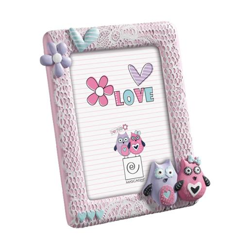 Baby Picture Frame 13x18cm Pink