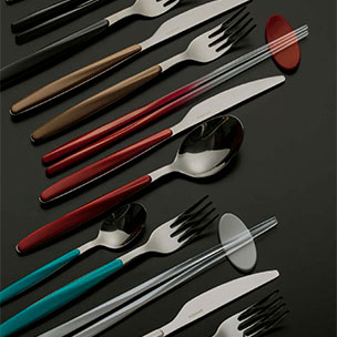 Colored Flatware