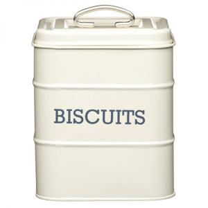 Canister Biscuit Dia 14x19cm Blue