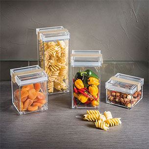 Plastic Jars & Containers