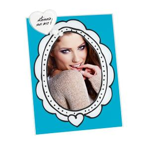 Picture Frame Blue 13x18cm