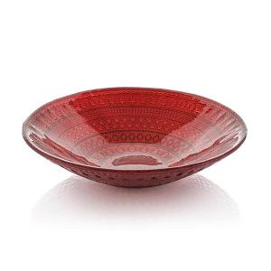 Holidays Centrepiece Bowl 30cm Red