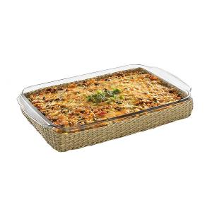 Baker Basic Dish With Basket Dia 32.5x22.5cm