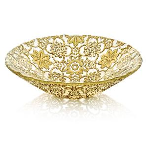 Arabesque Bowl Dia 25cm Gold