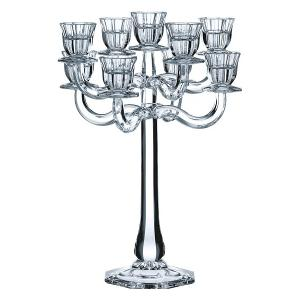 Ravello Candleholder With 9 Arm H 41cm Crystal