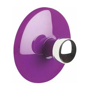 Bowl Range Towel Hook Dia 6cm Dark Purple