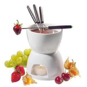 Classic Chocolate Fondue Set of 6 Pieces