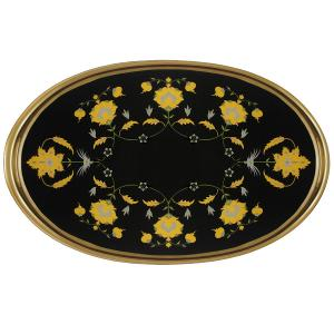 Paloma Serving Tray Oval 63x41cm