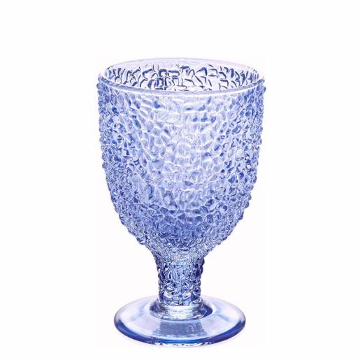 Special Goblet Glass Blue 300ml Set of 6 Pieces