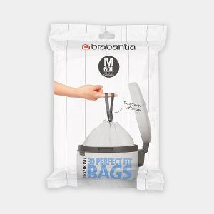 Perfectfit Bags For Bo Code M 60 litre Dispenser Pack 30 Bags