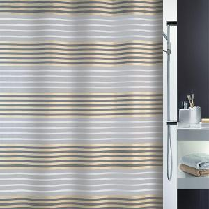 Versilia Shower Curtain Textile Champagne 180 x 200 cm