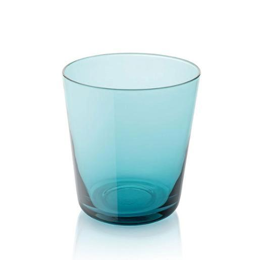 Easy Water Tumbler 340ml Set of 6 Pieces Turquoise