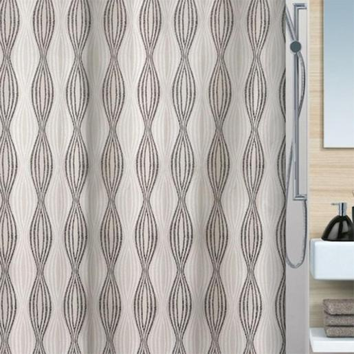 Nahla Shower Curtain, Size: 180x200cm