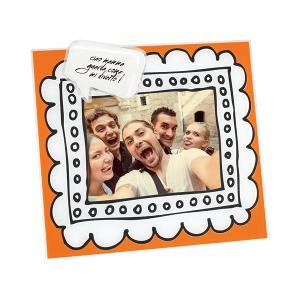Picture Frame Orange 13x18cm