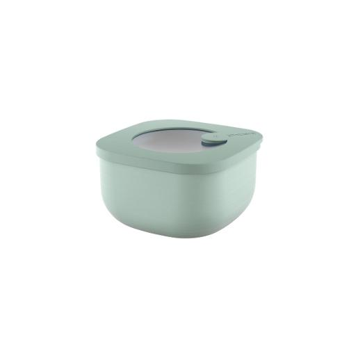 Store And More Shallow Airtight Containers .45 Liter Sage Green