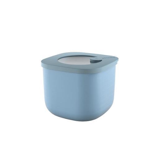 Store And More Shallow Airtight Deep Container .75 Liter Blue