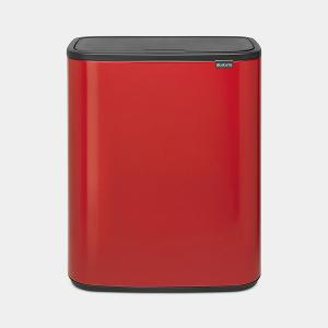 Bo Touch Bin 60 Liter Passion Red