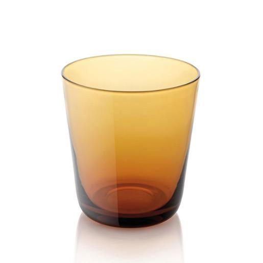 Easy Water Tumbler 340ml Set of 6 Pieces Amber
