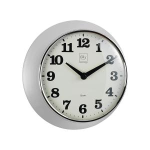 Wall Clock 24cm Chrome