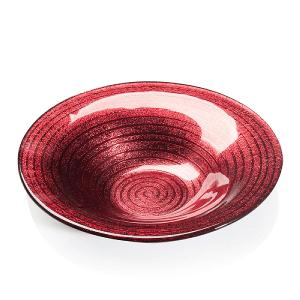 Espiral Centerpiece Dia 33cm Red