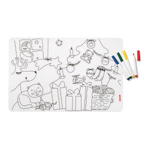Bimbi Paintable Placemat & Pens