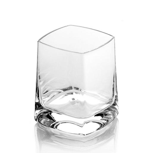 QB Tumbler 210ml Transparent Set of 6 Pieces