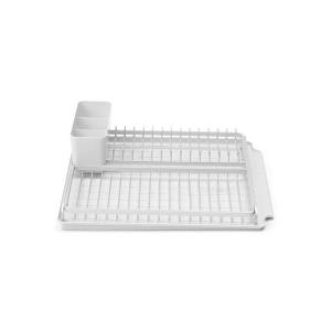 Dish Drying Rack Light Grey