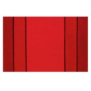 Calma Bath Rug 90x60cm Red