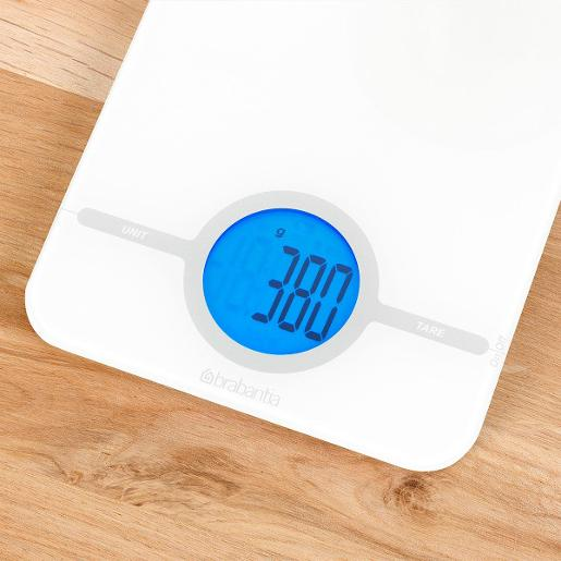 Digital Kitchen Scale White