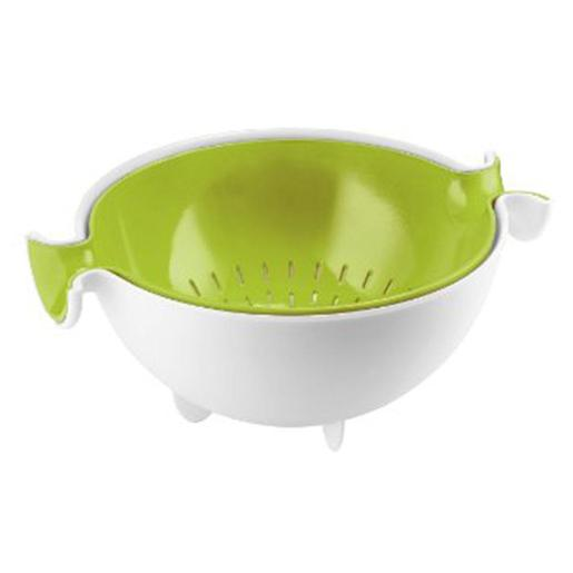 MY KITCHEN Colander & Bowl Set Green