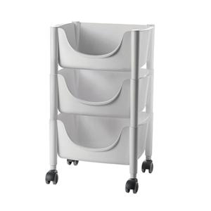 Hold&Roll Vegetables Trolley Matt Grey