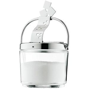 Farm Sugar Bowl Glass with S/Steel Lid 340ml