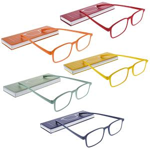 Extra Slim Reading Glasses with Magnetic Case Set of 1 Pieces