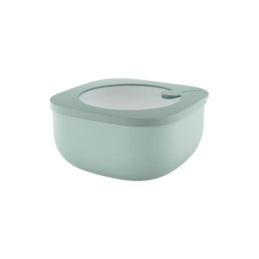 Store And More Shallow Airtight Small Container .975 Liter Sage Green