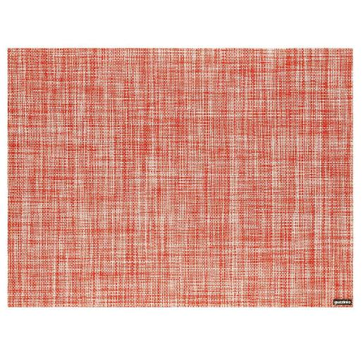 Grace Placemat Tweed 48x35cm Transpatent Red