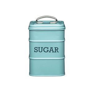 Sugar Canister  Dia 11x17cm Stainless Steel Blue