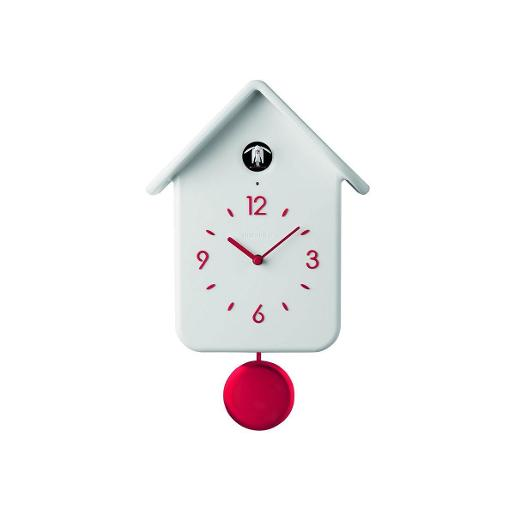 Home Clock White