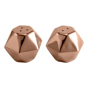 Set of Salt & Pepper Shaker Copper