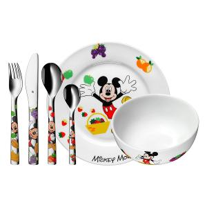 Mickey Mouse Children Dinner Set Of 6 Pieces