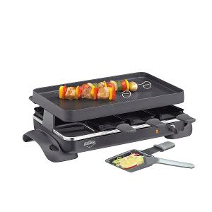 Raclette Grande with 8 pans